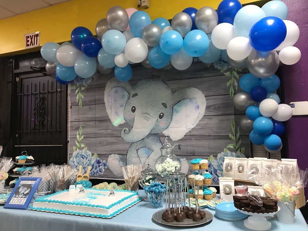 Elephant Baby Shower Decorations