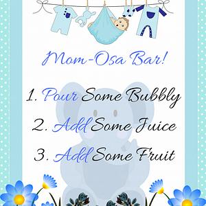 Blue Elephant Mom-Osa Bar