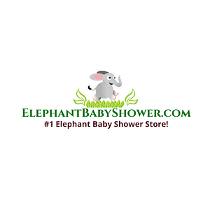 ElephantBabyShower.com Logo white backround