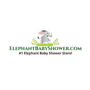 ElephantBabyShower.com Logo white backround