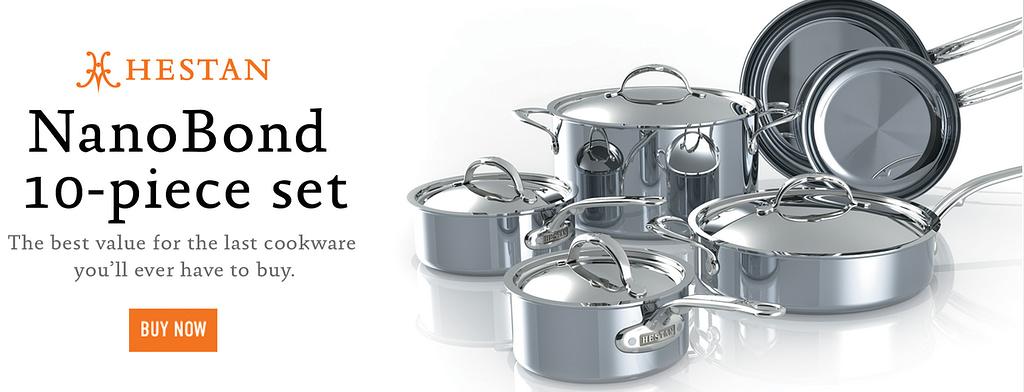 Heston Nanobond Titanium Cookware